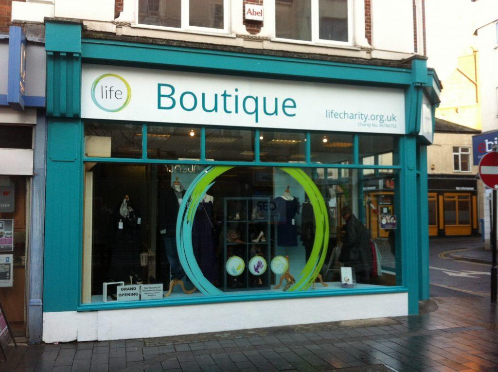 Leicester shop