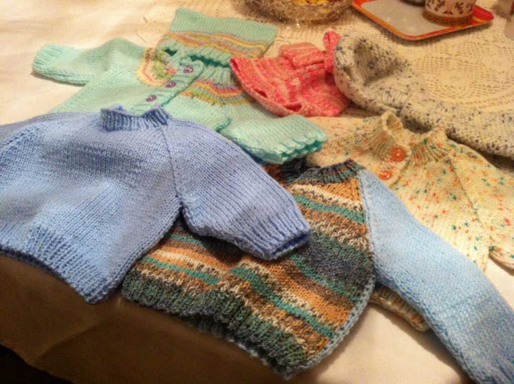 Northampton Receives 3rd Donation Of Hand Knitted Baby