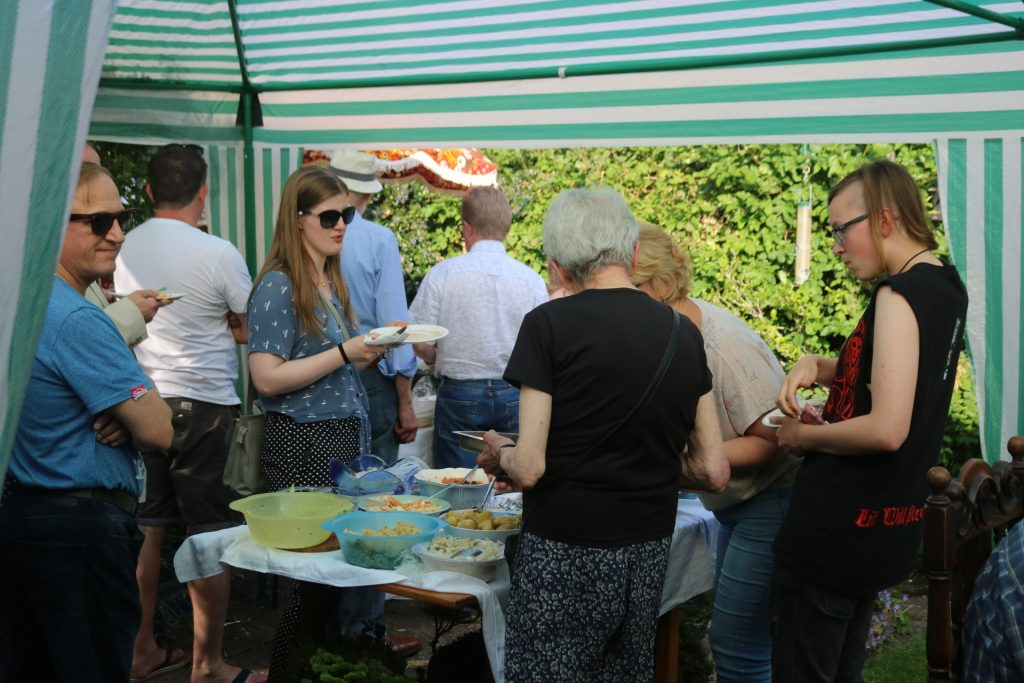 bbq wolverhampton supporters raising volunteering