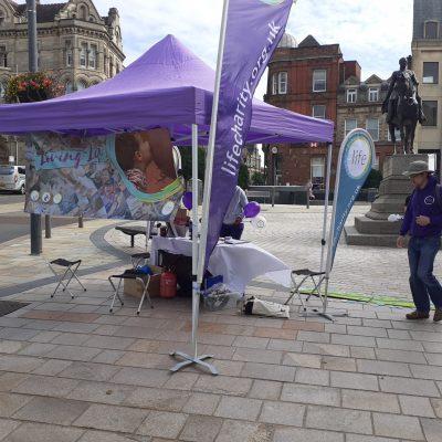 Loving Life Roadshow in Wolverhampton Queen Square